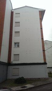 problemas en las fachadas