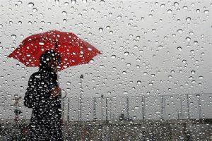 ventilación del hogar con lluvia